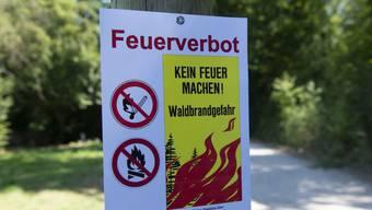 Weiterhin gilt in den meisten Gemeinden ein Feuerverbot.