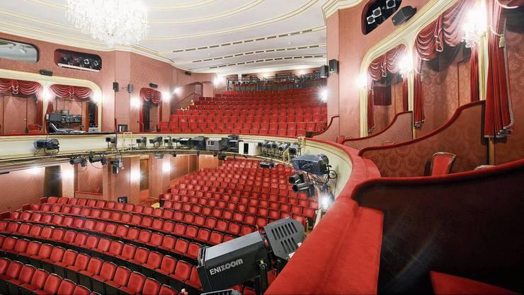Die Theatersessel wie hier im Schauspielhaus Zürich bleiben in den nächsten Wochen leer.