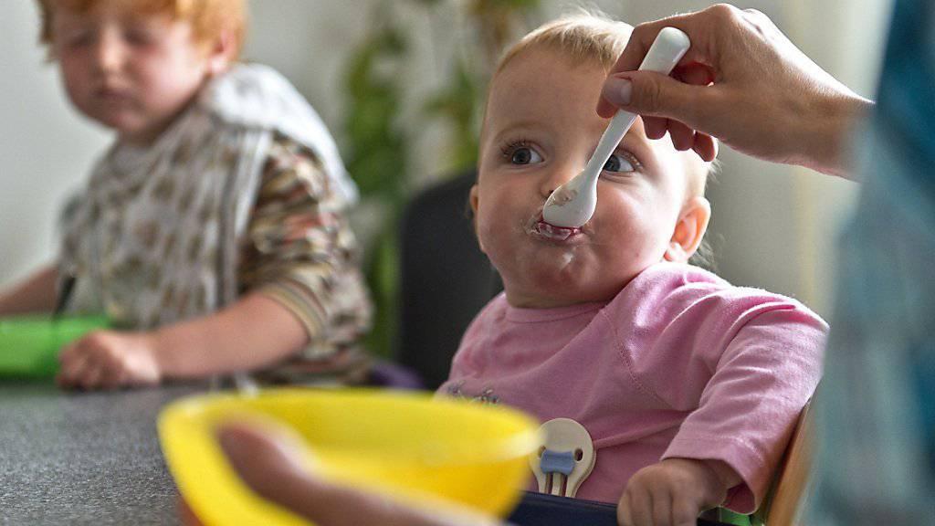 Mangel an Krippenplätzen treibt Babysitting-Preise hoch: Krippe in Lyss. (Archiv)