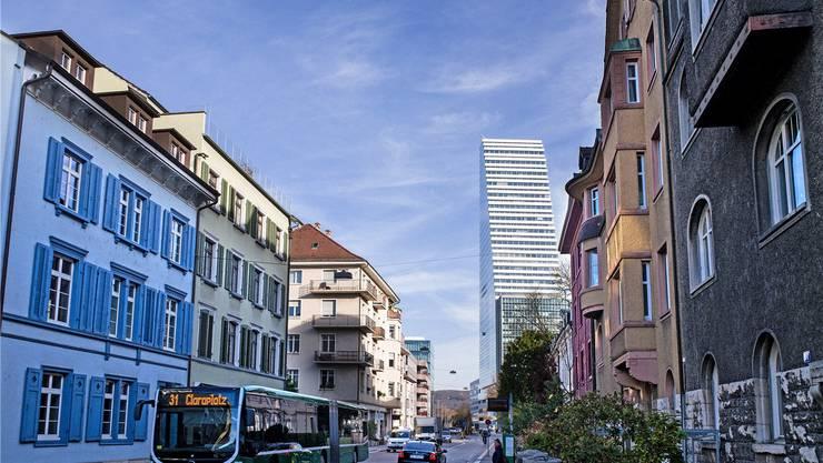 Durch den Bau des neuen Forschungs- und Entwicklungszentrums an der Peter Rot-Strasse/Grenzacherstrasse werden die Laborstätten am Rhein frei.
