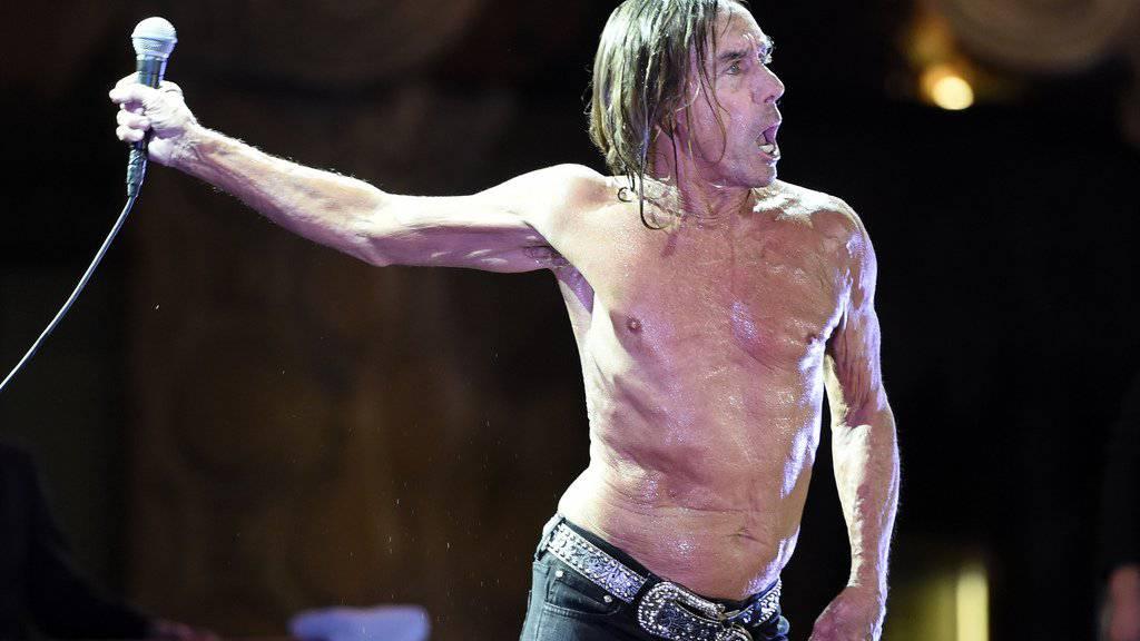 Iggy Pop verliess Berlin als Wrack