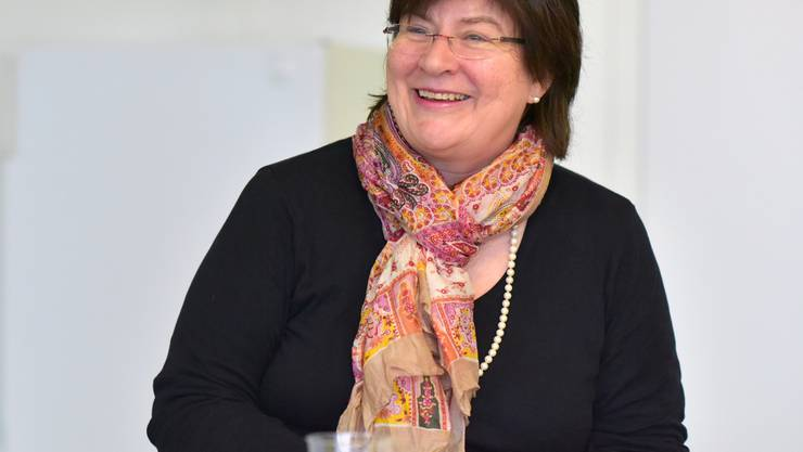 Parteipräsidentin Monique Rudolf von Rohr
