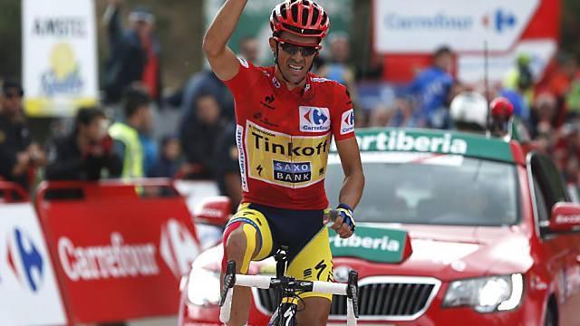 Contador sichert sich Tagessieg in der vorletzten Vuelta-Etappe