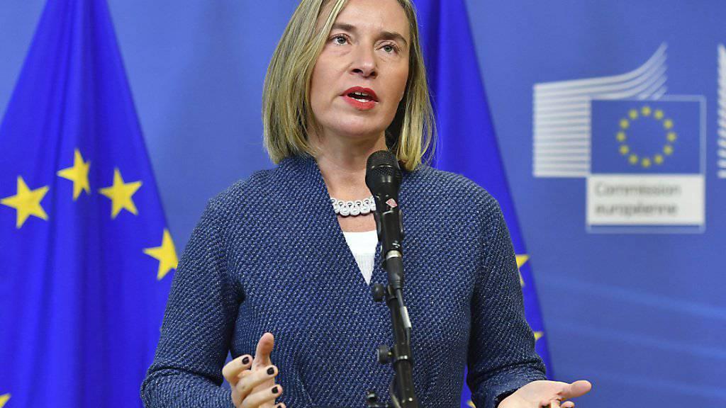 EU-Aussenbeauftragte Federica Mogherini hat an der Sahel-Geberkonferenz bestätigt, dass die EU ihre Unterstützung für die neue Eingreiftruppe zur Terror- und Schlepperbekämpfung in der Sahelzone von 50 auf 100 Millionen Euro aufstocken wird.
