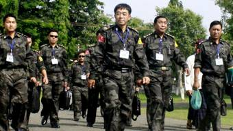 Delegierte der Kachin-Rebellen in Myitkyina (Archiv)