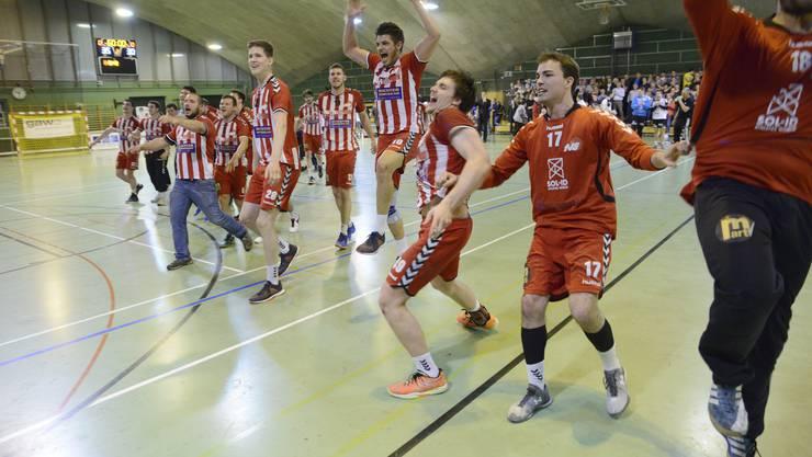 Im April 2016 feierten die Handballer des TV Solothurn den Aufstieg in die NLB im CIS. Was den Zustand der Halle angeht, gibts nichts zu feiern.