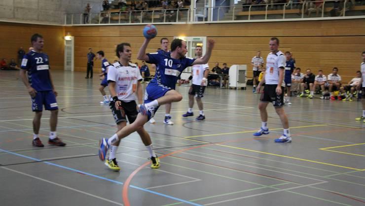 Dank 13 Treffern in zwei Spielen ist Publikumsliebling Christoph Hug der aktuell erfolgreichste Werfer des SV Lägern Wettingen.