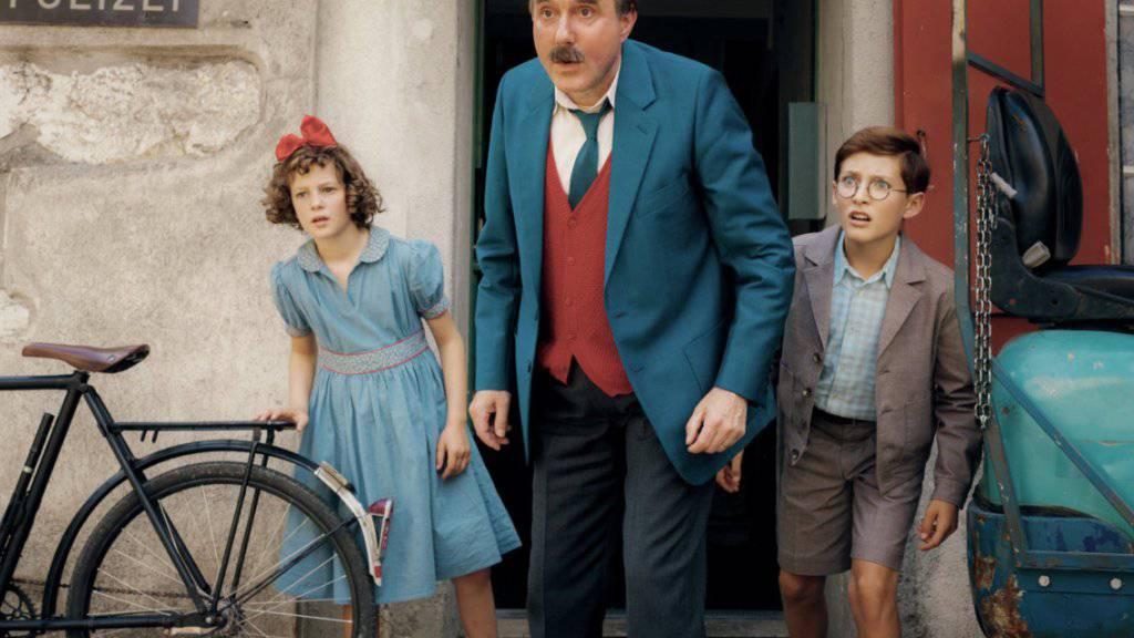 Papa Moll kann es kaum glauben: Nur Platz vier auf den Deutschschweizer Kinocharts und sogar nur Platz zehn in der Romandie. Und im Tessin kamen in den ersten vier Tagen nur 22 Leute in die drei Kinos, in denen der Film lief. (Pressebild)