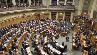 Heute Mittwoch entscheidet der Nationalrat über die Steuervorlage 17. Die grosse Kammer befasst sich mit dem Vorschlag des Ständerats. (Archivbild)