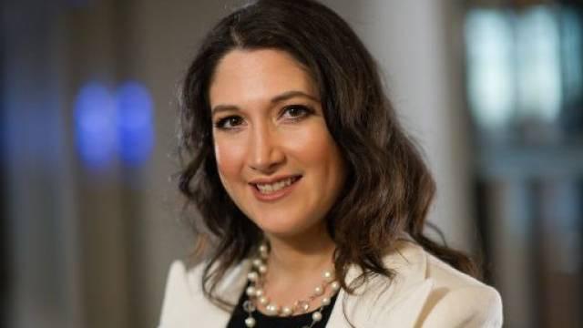 Randi Zuckerberg (30) ist eine von drei Schwestern von Facebook-Gründer Mark Zuckerberg. Foto: David Paul Morris - Bloomberg/ Getty Images