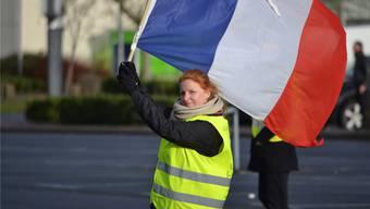 Vergangene Zeiten: Die Frontfrau der Gelbwesten auf den Champs-Élysées. Inzwischen nimmt Ingrid Levavasseur nicht mehr an Demonstrationen teil.