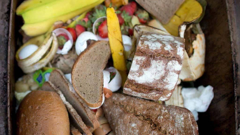 Kampf gegen Food Waste: Das grösste Potenzial liegt laut der Studie bei Tellerresten, Beilagen, Brot und Backwaren.