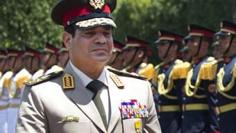 Kandidiert für die Präsidentschaft: Armeechef Al-Sisi (Archiv)