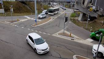 8 Millionen Franken sollen Ausbau und Sanierung der Bibenlos-Kreuzung in Bremgarten kosten – mit Bundesgeld kann der Aargau aber nicht rechnen.