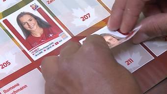 Die Fussballerinnen kämpfen in Kanada um den Weltmeister-Titel und an den Kiosks um die Bekanntheit. Zum ersten Mal gibt es auch Paninibilder zur Frauen-WM. Jedoch scheint es niemanden zu interessieren.