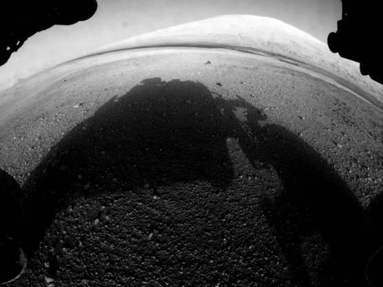 «Curiosity» soll auf dem Mars verschiedene Gesteinsbrocke analysieren