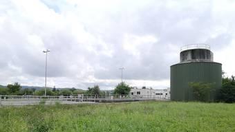 Die Abwasserreinigungsanlage (ARA) in Kölliken. Hier wurde am 28. Juli eine grössere Menge Öl und Benzin aufgefangen.