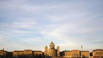 Das Bundeshaus mit seinen beiden Flügeln (Archiv)