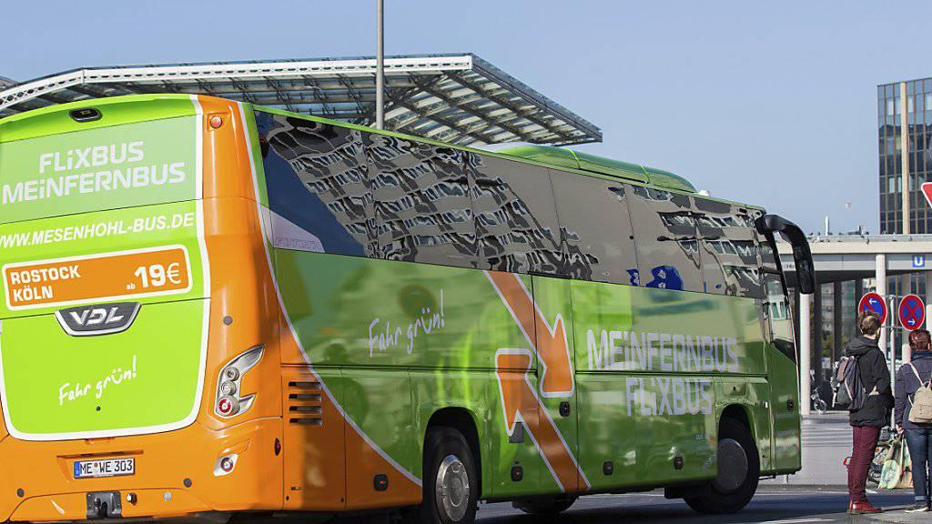 Flixbus will ab Mai auch in den USA ein Busnetz aufbauen. (Archiv)