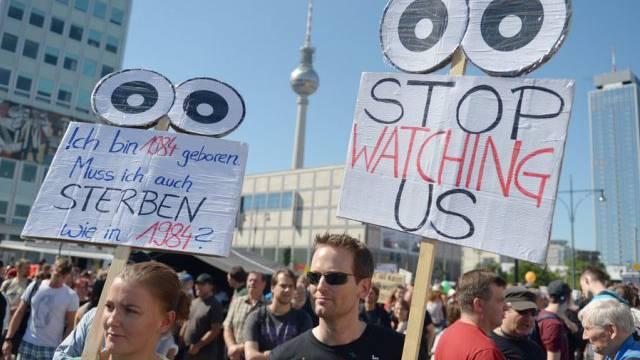Die Protestierenden wollen nicht im Radar der Geheimdienste sein