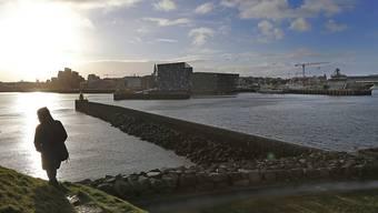 Blick auf den Hafen von Reykjavik, Islands Hauptstadt. Die Parlamentswahlen auf der Insel dürften zum Protestvotum gegen die bisherige Regierung werden.