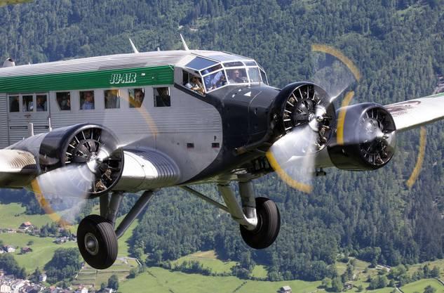 Eine «Tante Ju» der Ju-Air. Der Verein hat bekanntgegeben, bis auf Weiteres den Flugbetrieb vollständig einzustellen.