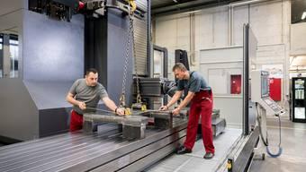 Meag AG in Gretzenbach hat neue Maschine