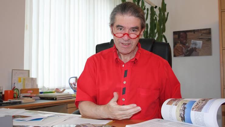 Frauenarzt und Honorarkonsul Toni Locher aus Wettingen.