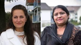 Nancy Holten und Aisha Mohamad haben gegen ihre abgewiesene Einbürgerung Beschwerde eingereicht.