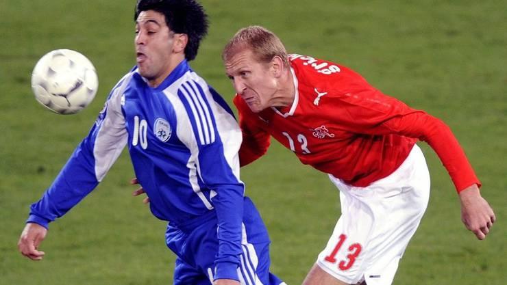 TV-Renner Nummer 1: Das WM-Qualifikationsspiel zwischen der Schweiz und Israel.