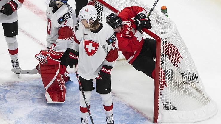 Die Schweizer Junioren hatten Kanada wenig entgegenzusetzen