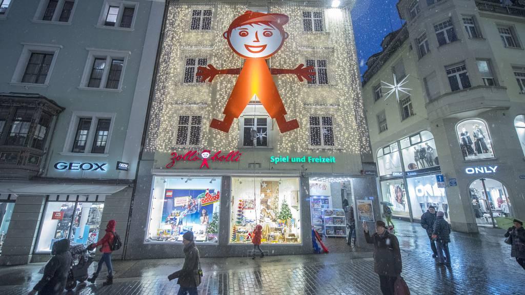 Zollibolli schliesst Filiale am St.Galler Bärenplatz