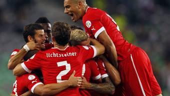 Die Schweiz gewinnt gegen Slowenien 2:0