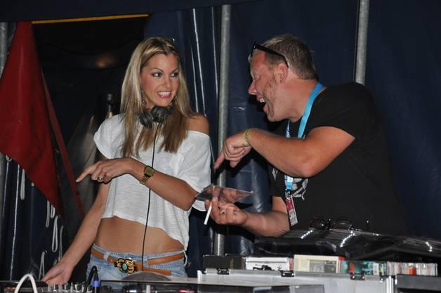 She-DJ Tanja La Croix verlieh dem Festival eine extra Portion Klasse