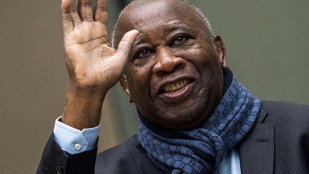 Der frühere ivorische Präsident, Laurent Gbagbo, darf unter Auflagen aus Belgien ausreisen. Gegen Gbagbo läuft ein Prozess vor dem Internationalen Strafgerichtshof. (Archivbild)