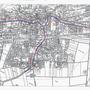 Die Karte zeigt die Planungskorridore, die entlang der Hauptachsen geschaffen werden.