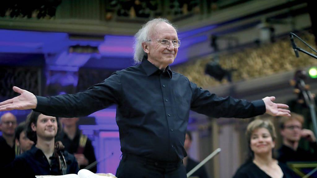 Uni Basel ernennt den Musiker Heinz Holliger zum Ehrendoktor