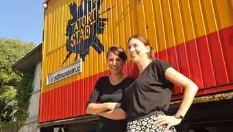 Ihr Ausstellungsprojekt sei ein voller Erfolg geworden, sagen Edith Werffeli (links) und Carole Kambli.
