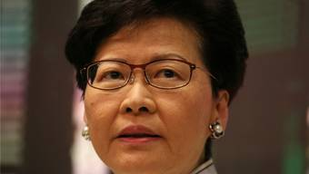 Regierungschefin Carrie Lam. Reuters