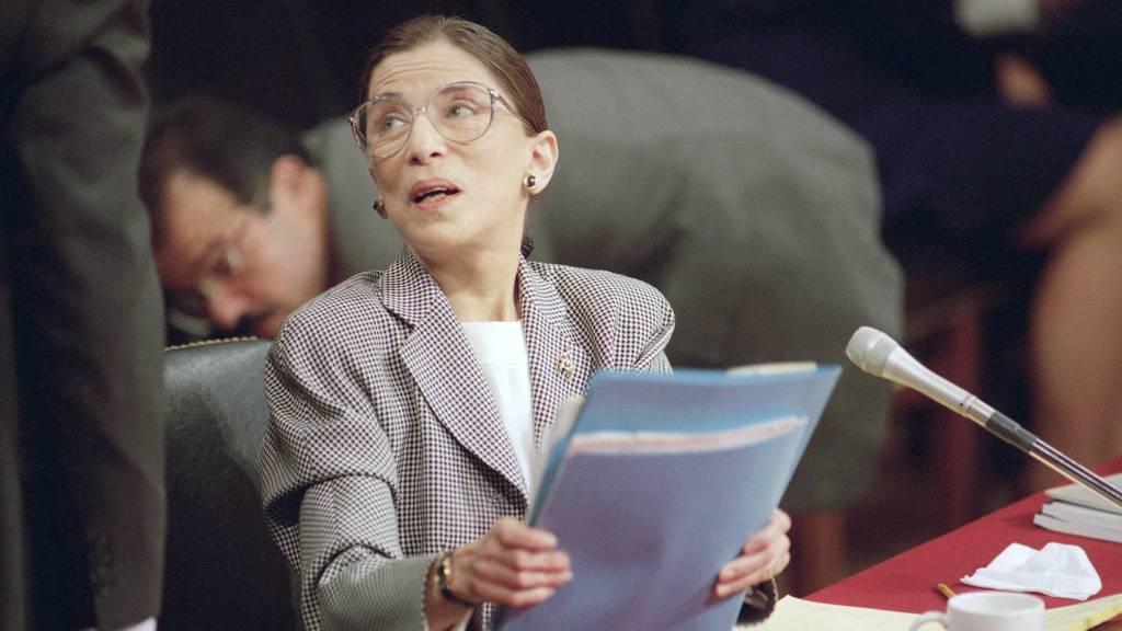 Justiz-Ikone Ruth Bader Ginsburg verstorben