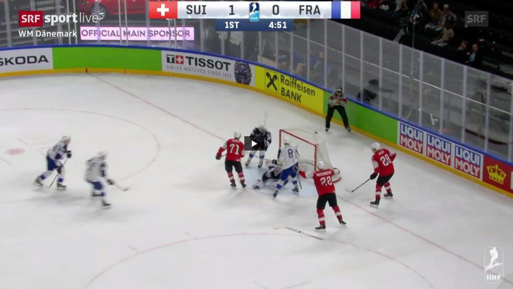 Eishockey: Schweizer in den Viertelfinals