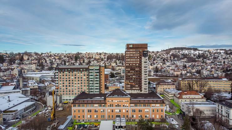 Das Kantonsspital St. Gallen ist die wichtigste Zentrumsklinik in der Ostschweiz.