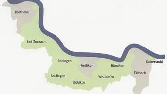 Bei einem Ja aller Gemeinden zum Projekt Rheintal + würde die flächenmässig grösste Gemeinde im Kanton entstehen.