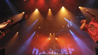 Griot an der Hip-Hop-Nacht in der Kaserne im Rahmen des BScene Festivals.