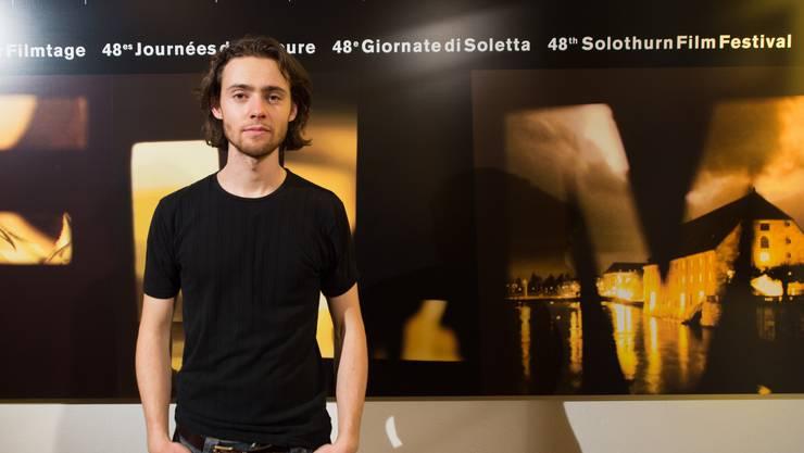 Jeshua Dreyfus nach der Präsentation seines Filmes «Halb so wild» in Solothurn.