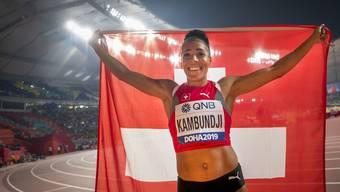 Sie überstrahlt alles: Mujinga Kambundji und ihre Bronzemedaille gehören zu den grossen Highlights der vergangenen WM in Doha.