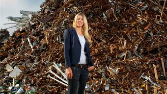 Preisgekrönte Jung-Unternehmerin und «Müll-Prinzessin» – Karin Bertschi sorgt für frischen Wind in der Schrott-Branche. Emanuel freudiger