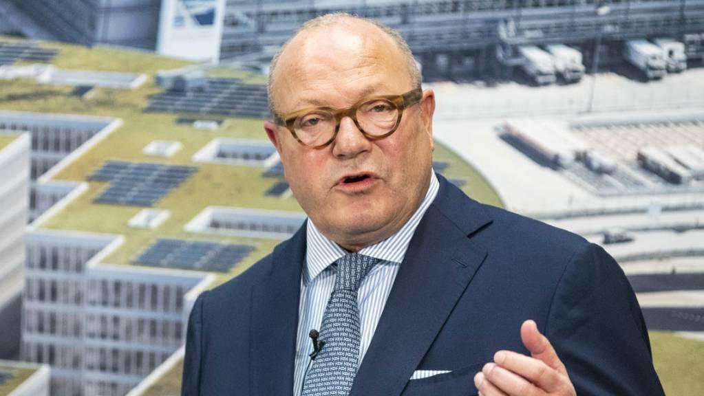 Der Flughafen Zürich befindet sich laut Verwaltungsratspräsident Andreas Schmid in einer stabilen und soliden Lage. (Archivbild)