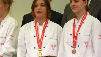 Die Goldmedaille geht nach Frick an Miriam Urwyler. zvg