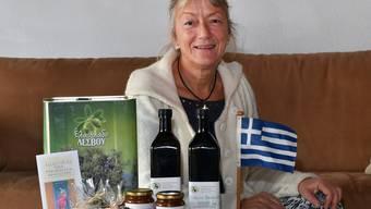 Die Wisnerin ist sowohl in Wisen als auch auf der griechischen Insel Lesbos zu Hause.